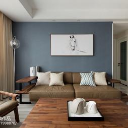 108平北欧风客厅沙发设计图