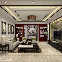 农村自家大厅设计图_2863257