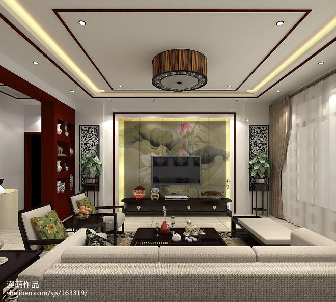 农村自家大厅设计图_2863258