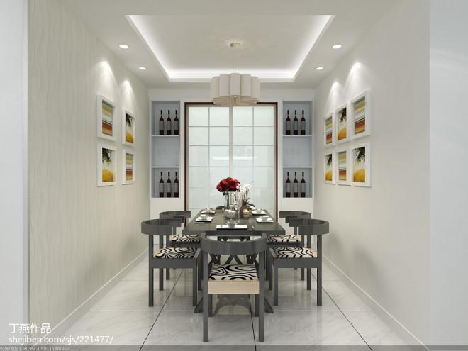 东河138平米现代风格设计_2870