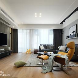 现代四居客厅设计效果图