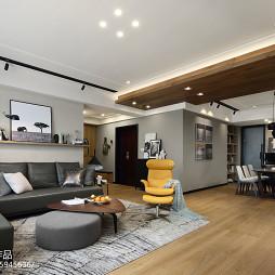 现代风四居客厅设计效果图