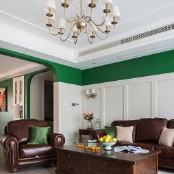 195㎡美式客厅吊灯设计图