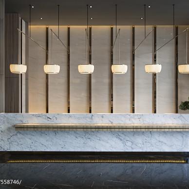 深圳财富城前台设计图片
