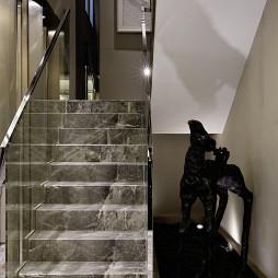 别墅样板房楼梯设计图