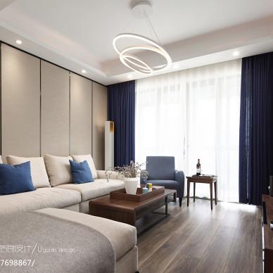 现代风格三居客厅设计图片