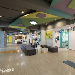 贝乐乐高中心大厅设计图