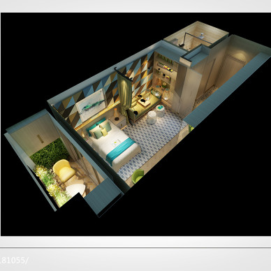 大城市小房间----温暖一居室_2884033