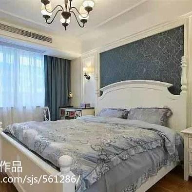 90平米轻美式风格装修,不含家具全包10