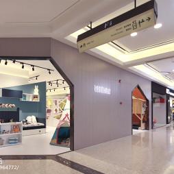 时尚家居儿童家具展厅设计图