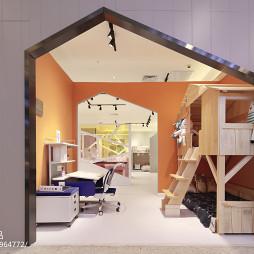 时尚家居儿童家具展厅设计