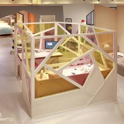 儿童家具展厅卧室设计效果图