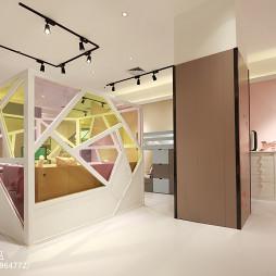 儿童家具展厅卧室设计