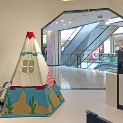 儿童家具展厅内部展示图