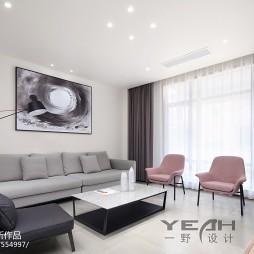 现代风格别墅客厅设计效果图