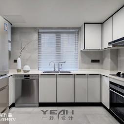 现代风格别墅厨房设计图