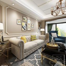 桃花岛公寓美式设计_2888117