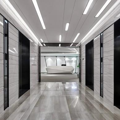 盛世嘉创办公空间正门设计图