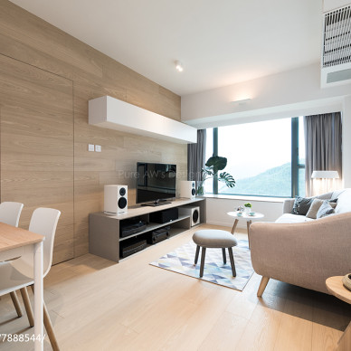北歐二居客廳設計圖