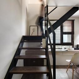 简单现代复式楼梯设计图