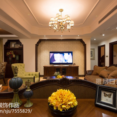 中建芙蓉和苑170平方米美式乡村风格_2894069