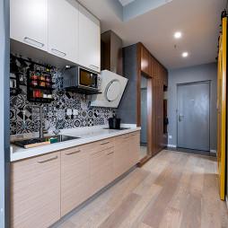 简约小户型厨房设计图