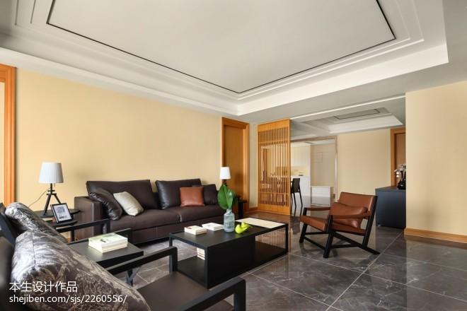 素雅现代三居客厅设计