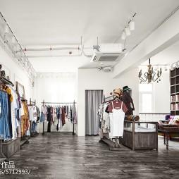 润通尚城咖啡厅衣服售卖区设计图