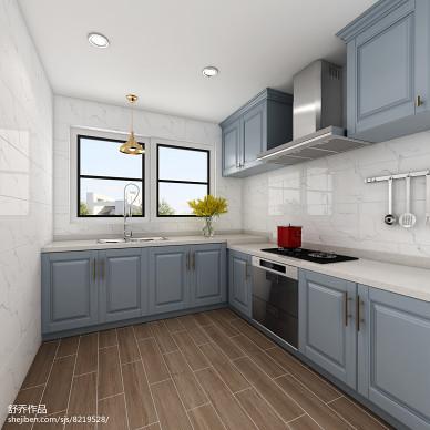【蓝桥春雪】美式风格住宅空间设计_2910981