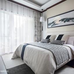 东南亚风格豪宅卧室设计图