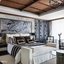 东南亚风格豪宅卧室设计效果图