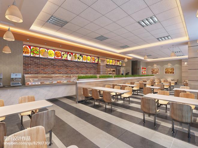 现代快餐店设计方案_2915275
