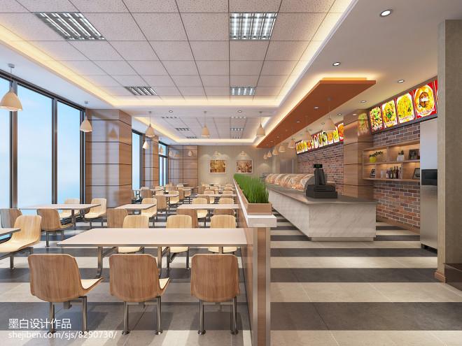 现代快餐店设计方案_2915277