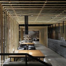 竹里馆中餐厅就餐区设计图