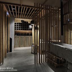 竹里馆中餐厅洗手间设计图