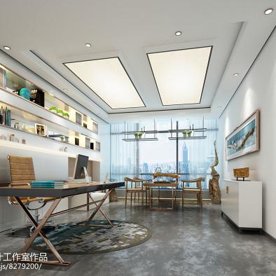 同美空间设计—素颜优雅