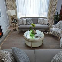 混搭风别墅客厅设计图