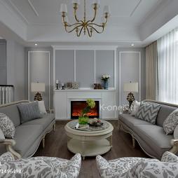 混搭风别墅客厅设计图片