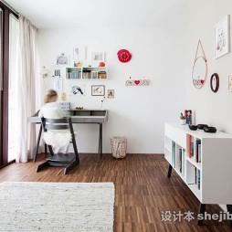 简约风格书房整体装饰图片