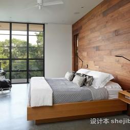 现代风格别墅卧室整体家居装饰图