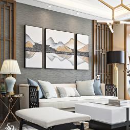 中式别墅沙发设计图