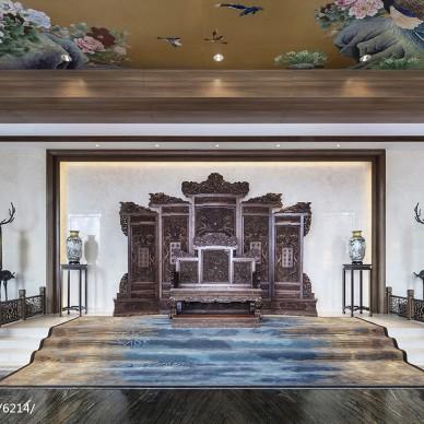 龙光御海天禧文化展厅大厅设计图