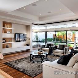 中式风格客厅整体装饰图片