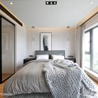 明亮北欧三居卧室设计图片