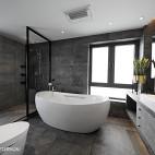 宽敞北欧三居卫浴设计图片