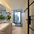 宽敞北欧三居卫浴设计效果图