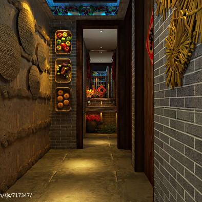 大连·福记餐厅设计效果图