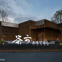 台中茶六烧肉堂大门设计图