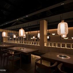 台中茶六烧肉堂桌椅摆放设计图