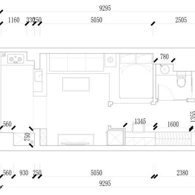 怡海星城单身公寓现代风格_2947139